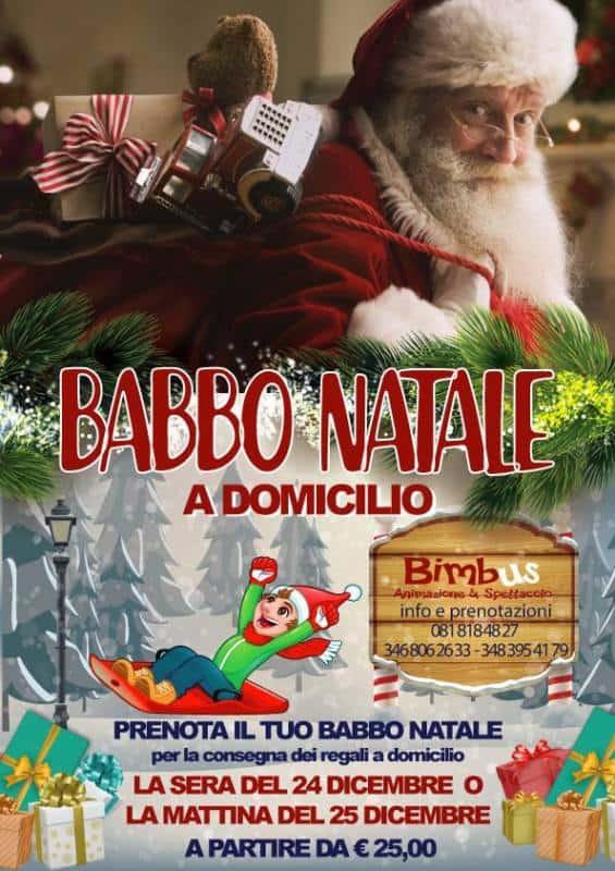 Babbo Natale A Domicilio.Babbo Natale A Casa Tua Animazione Bimbus